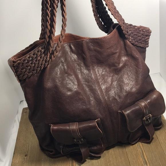 1d12d1edea44c Hobo International large braided handle bag